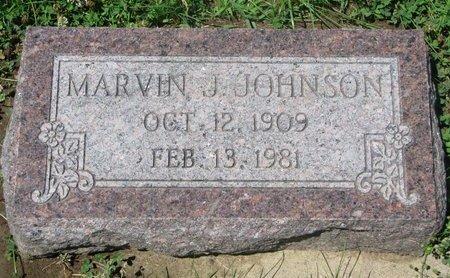 JOHNSON, MARVIN J. - Dodge County, Nebraska   MARVIN J. JOHNSON - Nebraska Gravestone Photos