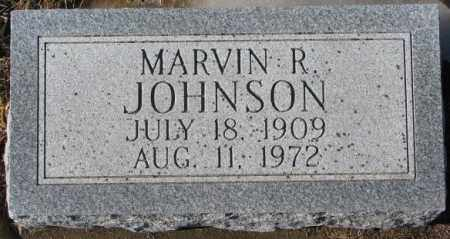 JOHNSON, MARVIN R. - Dodge County, Nebraska | MARVIN R. JOHNSON - Nebraska Gravestone Photos