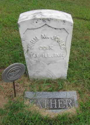 JONES, JOHN M - Dodge County, Nebraska | JOHN M JONES - Nebraska Gravestone Photos