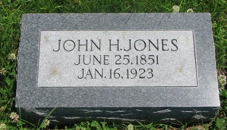 JONES, JOHN H. - Dodge County, Nebraska | JOHN H. JONES - Nebraska Gravestone Photos