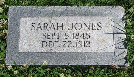 JONES, SARAH - Dodge County, Nebraska | SARAH JONES - Nebraska Gravestone Photos