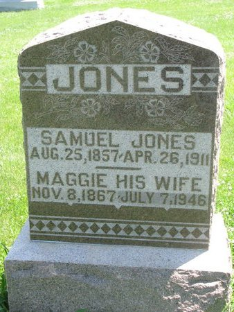 JONES, MAGGIE - Dodge County, Nebraska | MAGGIE JONES - Nebraska Gravestone Photos