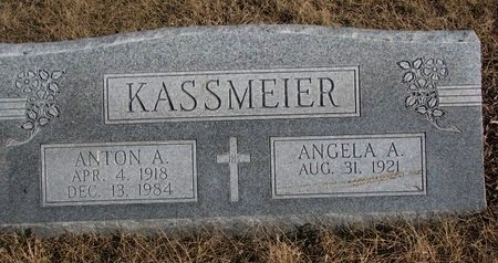 KASSMEIER, ANGELA A. - Dodge County, Nebraska | ANGELA A. KASSMEIER - Nebraska Gravestone Photos
