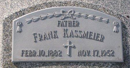 KASSMEIER, FRANK - Dodge County, Nebraska | FRANK KASSMEIER - Nebraska Gravestone Photos