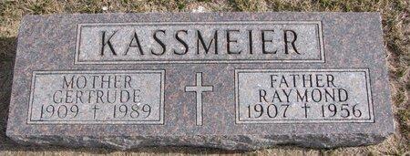 KASSMEIER, RAYMOND - Dodge County, Nebraska | RAYMOND KASSMEIER - Nebraska Gravestone Photos