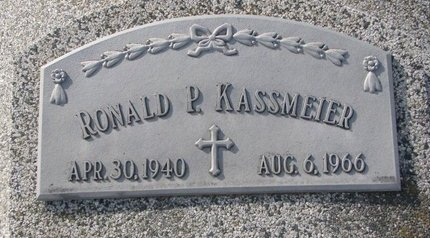 KASSMEIER, RONALD P. - Dodge County, Nebraska | RONALD P. KASSMEIER - Nebraska Gravestone Photos