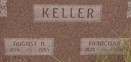KELLER, AUGUST - Dodge County, Nebraska | AUGUST KELLER - Nebraska Gravestone Photos