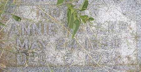 KELLER, ANNIE - Dodge County, Nebraska | ANNIE KELLER - Nebraska Gravestone Photos
