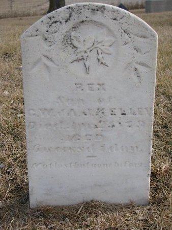 KELLEY, REX - Dodge County, Nebraska | REX KELLEY - Nebraska Gravestone Photos