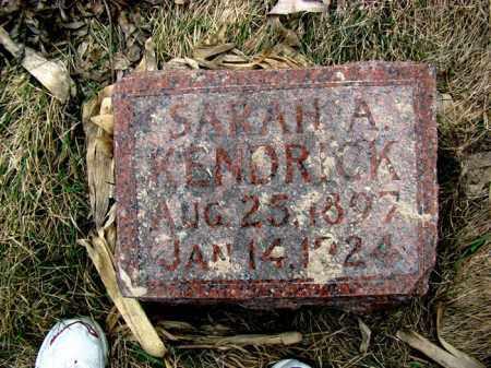 HOWARD KENDRICK, SARAH A. - Dodge County, Nebraska | SARAH A. HOWARD KENDRICK - Nebraska Gravestone Photos
