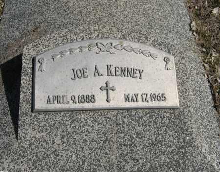 KENNEY, JOE A. - Dodge County, Nebraska   JOE A. KENNEY - Nebraska Gravestone Photos