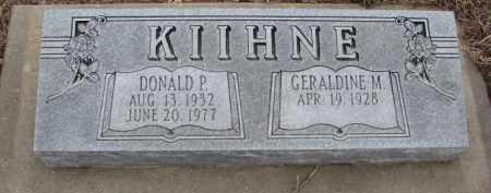 KIIHNE, GERALDINE M. - Dodge County, Nebraska | GERALDINE M. KIIHNE - Nebraska Gravestone Photos