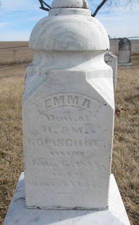 KOPISCHKE, EMMA - Dodge County, Nebraska | EMMA KOPISCHKE - Nebraska Gravestone Photos