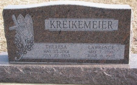 KREIKEMEIER, LAWRENCE - Dodge County, Nebraska | LAWRENCE KREIKEMEIER - Nebraska Gravestone Photos