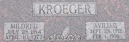 HEERMANN KROEGER, MILDRED - Dodge County, Nebraska | MILDRED HEERMANN KROEGER - Nebraska Gravestone Photos