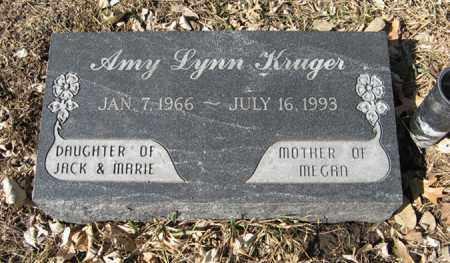 KRUGER, AMY LYNN - Dodge County, Nebraska | AMY LYNN KRUGER - Nebraska Gravestone Photos