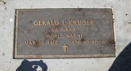 KRUGER, GERALD L. (MILITARY MARKER) - Dodge County, Nebraska | GERALD L. (MILITARY MARKER) KRUGER - Nebraska Gravestone Photos