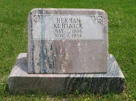 KUHTNICK, HERMAN - Dodge County, Nebraska   HERMAN KUHTNICK - Nebraska Gravestone Photos