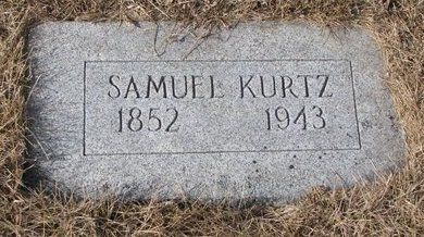 KURTZ, SAMUEL - Dodge County, Nebraska | SAMUEL KURTZ - Nebraska Gravestone Photos