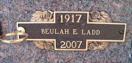 LADD, BEULAH E - Dodge County, Nebraska | BEULAH E LADD - Nebraska Gravestone Photos