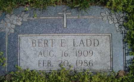 LADD, BERT E - Dodge County, Nebraska | BERT E LADD - Nebraska Gravestone Photos