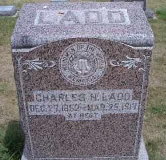 LADD, CHARLES H - Dodge County, Nebraska | CHARLES H LADD - Nebraska Gravestone Photos