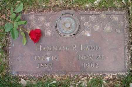 DAISS LADD, HANNAH PAULINE - Dodge County, Nebraska | HANNAH PAULINE DAISS LADD - Nebraska Gravestone Photos