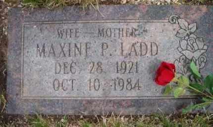 LADD, MAXINE P - Dodge County, Nebraska | MAXINE P LADD - Nebraska Gravestone Photos