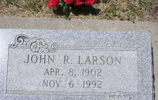 LARSON, JOHN R. - Dodge County, Nebraska | JOHN R. LARSON - Nebraska Gravestone Photos