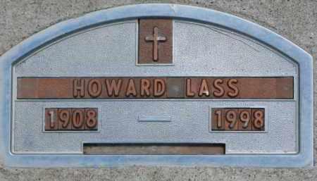 LASS, HOWARD - Dodge County, Nebraska | HOWARD LASS - Nebraska Gravestone Photos