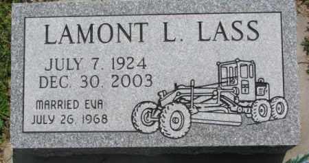 LASS, LAMONT L. - Dodge County, Nebraska | LAMONT L. LASS - Nebraska Gravestone Photos