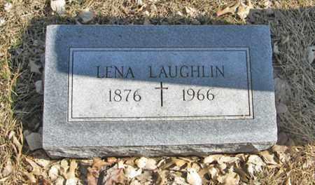 LAUGHLIN, LENA - Dodge County, Nebraska | LENA LAUGHLIN - Nebraska Gravestone Photos