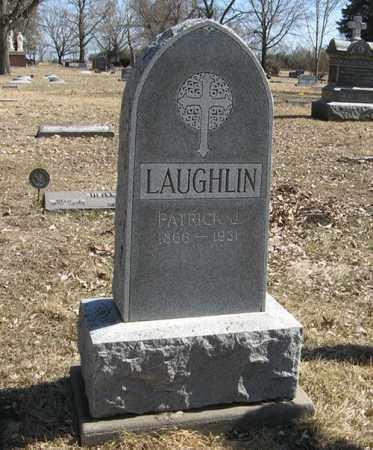 LAUGHLIN, PATRICK J. - Dodge County, Nebraska | PATRICK J. LAUGHLIN - Nebraska Gravestone Photos
