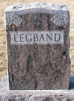 LEGBAND, *FAMILY MONUMENT - Dodge County, Nebraska | *FAMILY MONUMENT LEGBAND - Nebraska Gravestone Photos