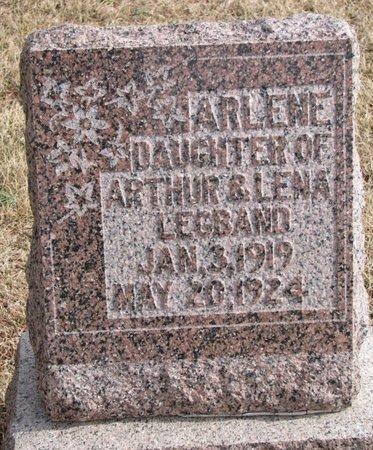 LEGBAND, ARLENE - Dodge County, Nebraska | ARLENE LEGBAND - Nebraska Gravestone Photos