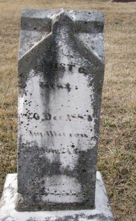 LEGBAND, ERNST G. - Dodge County, Nebraska | ERNST G. LEGBAND - Nebraska Gravestone Photos