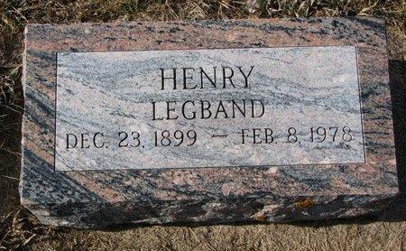LEGBAND, HENRY - Dodge County, Nebraska | HENRY LEGBAND - Nebraska Gravestone Photos