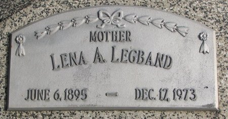 "LEGBAND, HELENA ALBERTINA LOUISA ""LENA"" - Dodge County, Nebraska | HELENA ALBERTINA LOUISA ""LENA"" LEGBAND - Nebraska Gravestone Photos"