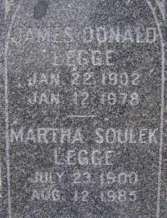 SOULEK LEGGE, MARTHA - Dodge County, Nebraska   MARTHA SOULEK LEGGE - Nebraska Gravestone Photos