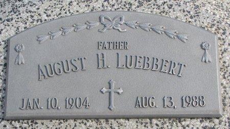 LUEBBERT, AUGUST H. - Dodge County, Nebraska | AUGUST H. LUEBBERT - Nebraska Gravestone Photos
