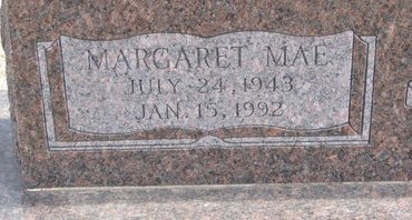 LUEBBERT, MARGARET MAE (CLOSE UP) - Dodge County, Nebraska | MARGARET MAE (CLOSE UP) LUEBBERT - Nebraska Gravestone Photos