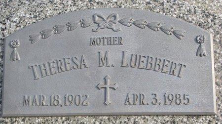 SCHMUECKER LUEBBERT, THERESA M. - Dodge County, Nebraska | THERESA M. SCHMUECKER LUEBBERT - Nebraska Gravestone Photos