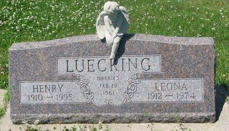 LUECKING, HENRY - Dodge County, Nebraska | HENRY LUECKING - Nebraska Gravestone Photos
