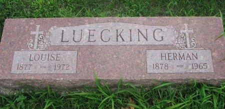 LUECKING, HERMAN - Dodge County, Nebraska   HERMAN LUECKING - Nebraska Gravestone Photos