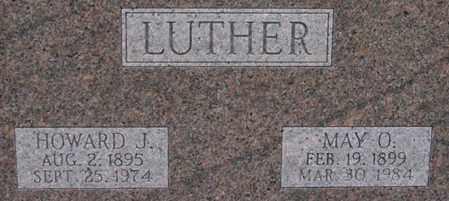 LUTHER, HOWARD - Dodge County, Nebraska | HOWARD LUTHER - Nebraska Gravestone Photos