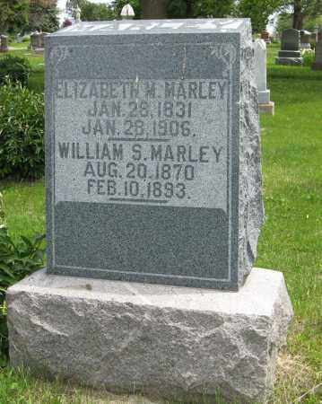 MARLEY, WILLIAM S. - Dodge County, Nebraska | WILLIAM S. MARLEY - Nebraska Gravestone Photos