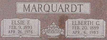 MARQUARDT, ELBERTH - Dodge County, Nebraska | ELBERTH MARQUARDT - Nebraska Gravestone Photos