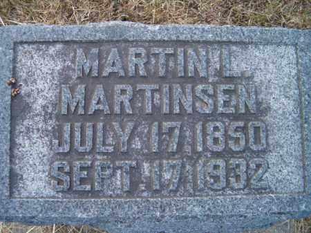MARTINSEN, MARTIN L - Dodge County, Nebraska | MARTIN L MARTINSEN - Nebraska Gravestone Photos