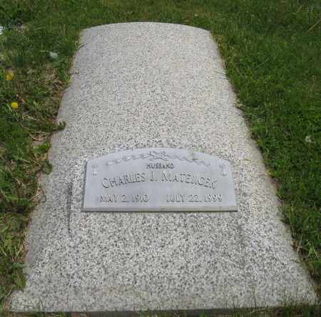 MATEJICEK, CHARLES J. - Dodge County, Nebraska | CHARLES J. MATEJICEK - Nebraska Gravestone Photos