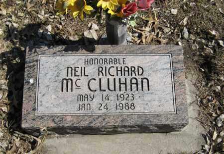 MCCLUHAN, NEIL RICHARD - Dodge County, Nebraska | NEIL RICHARD MCCLUHAN - Nebraska Gravestone Photos